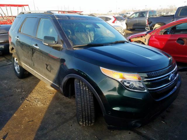 Salvage cars for sale from Copart Woodhaven, MI: 2013 Ford Explorer L