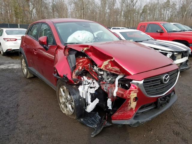 Salvage cars for sale from Copart Waldorf, MD: 2019 Mazda CX-3 Sport