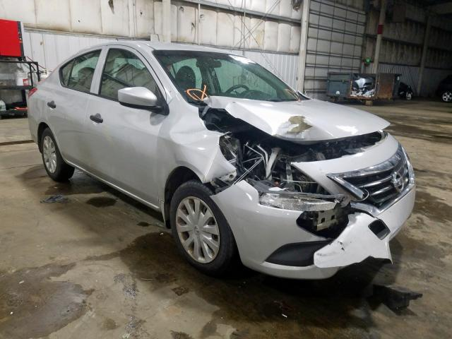 Salvage cars for sale from Copart Woodburn, OR: 2016 Nissan Versa S
