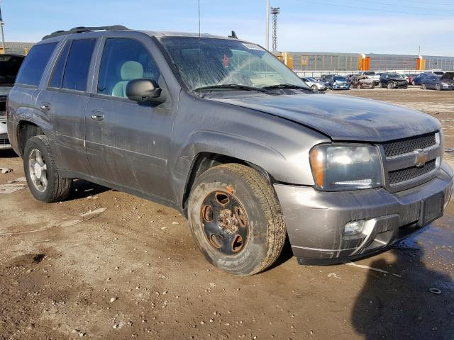 Salvage cars for sale from Copart Columbus, OH: 2008 Chevrolet Trailblazer