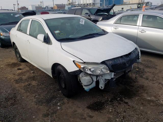 Salvage Certificate 2010 Toyota Corolla Sedan 4d 1 8l For Sale In