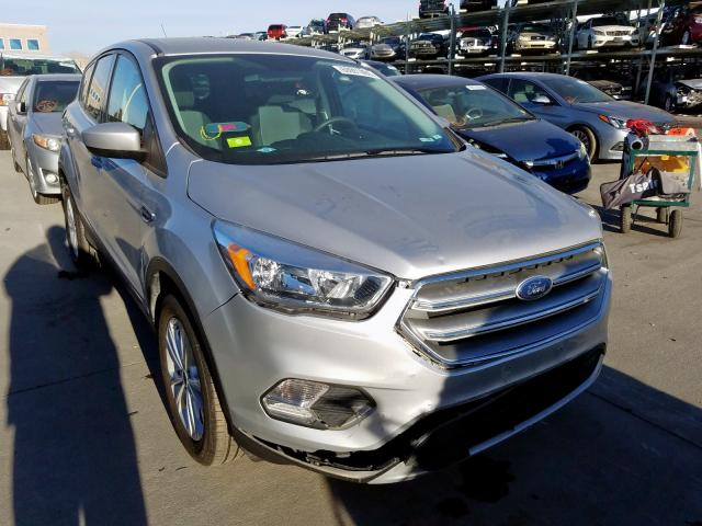Ford Escape SE salvage cars for sale: 2017 Ford Escape SE