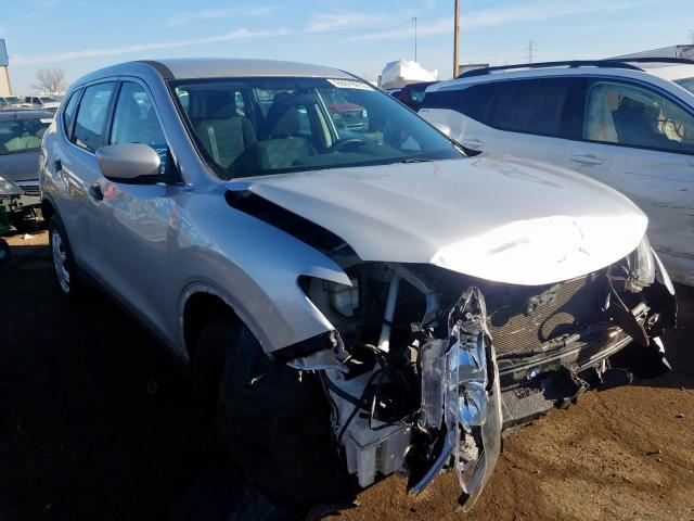 Salvage cars for sale from Copart Woodhaven, MI: 2016 Nissan Rogue S