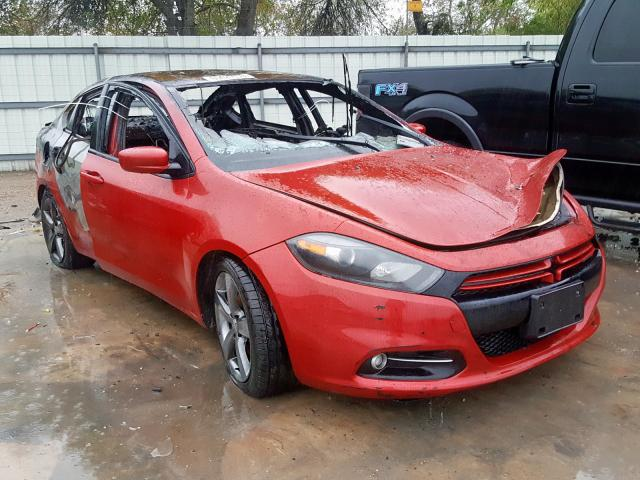 Salvage cars for sale from Copart Corpus Christi, TX: 2013 Dodge Dart SXT