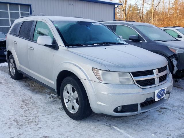 Salvage cars for sale from Copart Candia, NH: 2010 Dodge Journey SX