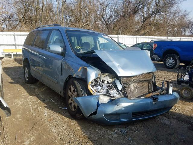 KIA Sedona EX salvage cars for sale: 2009 KIA Sedona EX