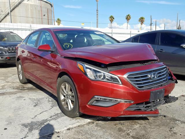 Salvage cars for sale from Copart Wilmington, CA: 2015 Hyundai Sonata SE