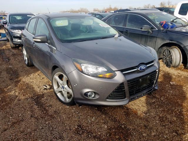 Salvage cars for sale at Bridgeton, MO auction: 2013 Ford Focus Titanium