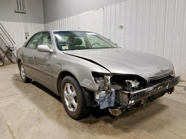 Lexus salvage cars for sale: 1998 Lexus ES 300