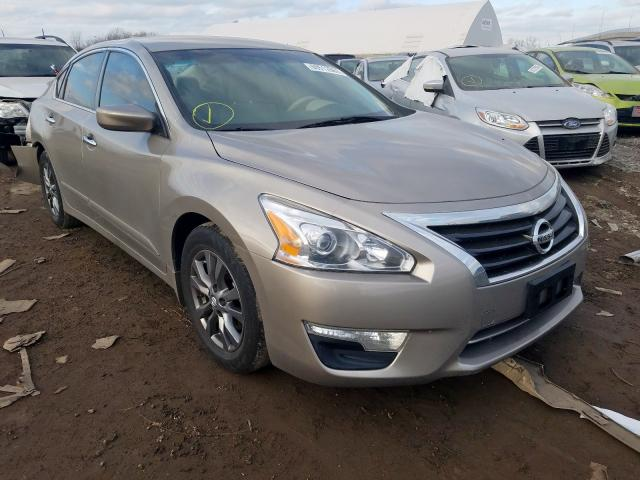 Salvage cars for sale from Copart Hammond, IN: 2015 Nissan Altima 2.5