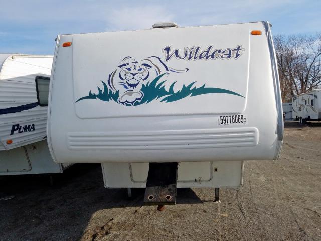 2003 WILDCAT  5TH WHEEL