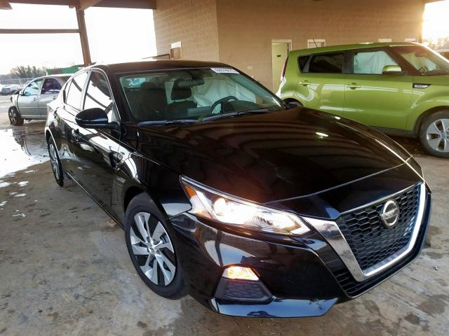 Nissan Altima S salvage cars for sale: 2019 Nissan Altima S