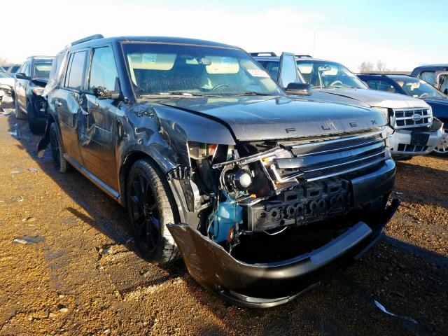 Salvage cars for sale from Copart Bridgeton, MO: 2016 Ford Flex Limited