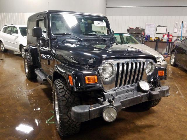 Salvage cars for sale from Copart Ham Lake, MN: 2006 Jeep Wrangler