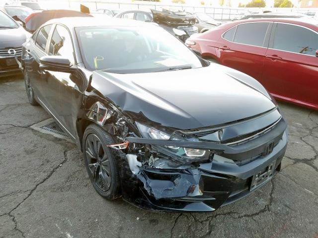 Salvage cars for sale from Copart Bakersfield, CA: 2017 Honda Civic EX