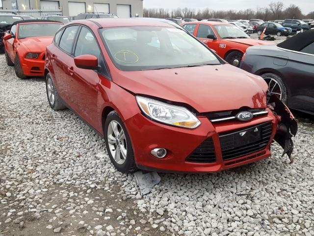Salvage cars for sale from Copart Alorton, IL: 2012 Ford Focus SE