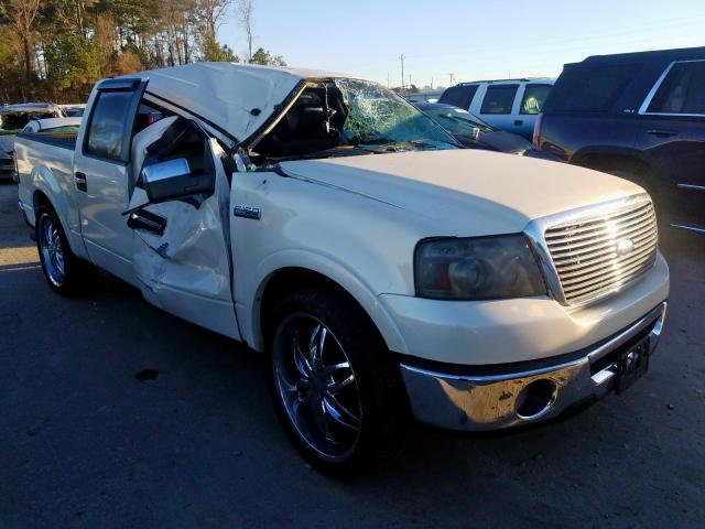 Salvage cars for sale from Copart Dunn, NC: 2007 Ford F150 Super