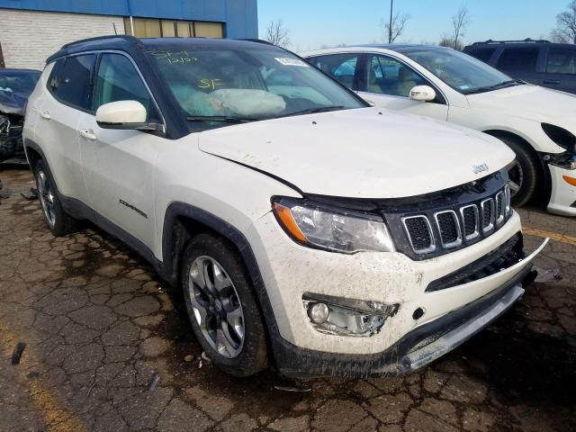 Jeep Compass LI salvage cars for sale: 2019 Jeep Compass LI