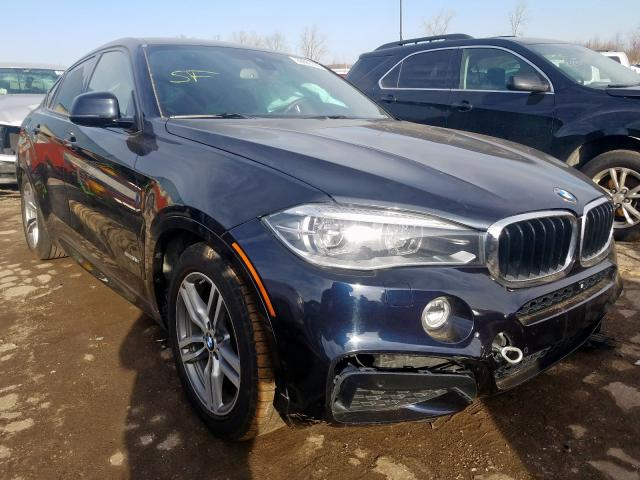 BMW X6 XDRIVE3 salvage cars for sale: 2015 BMW X6 XDRIVE3