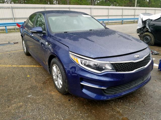 Salvage cars for sale from Copart Eight Mile, AL: 2018 KIA Optima LX