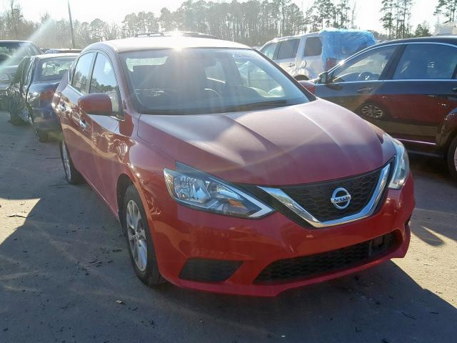 Salvage cars for sale from Copart Dunn, NC: 2018 Nissan Sentra S