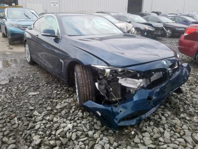 BMW 435 XI salvage cars for sale: 2015 BMW 435 XI