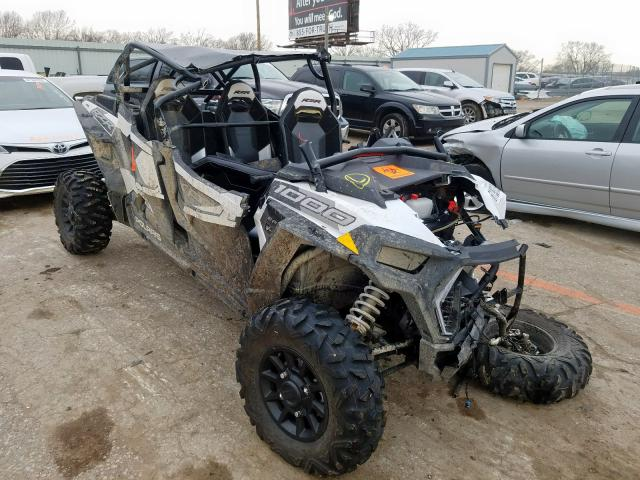 Salvage cars for sale from Copart Wichita, KS: 2019 Polaris RZR XP 4 1