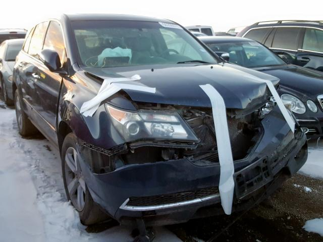 Acura salvage cars for sale: 2012 Acura MDX Techno