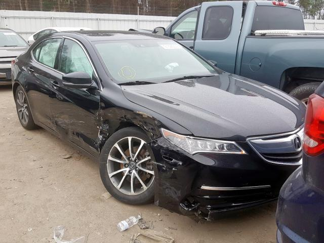 Salvage cars for sale from Copart Dunn, NC: 2015 Acura TLX Tech