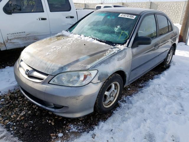 2005 HONDA  CIVIC DX V