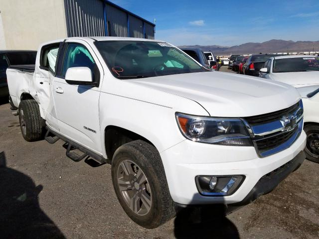 Chevrolet Colorado L salvage cars for sale: 2018 Chevrolet Colorado L