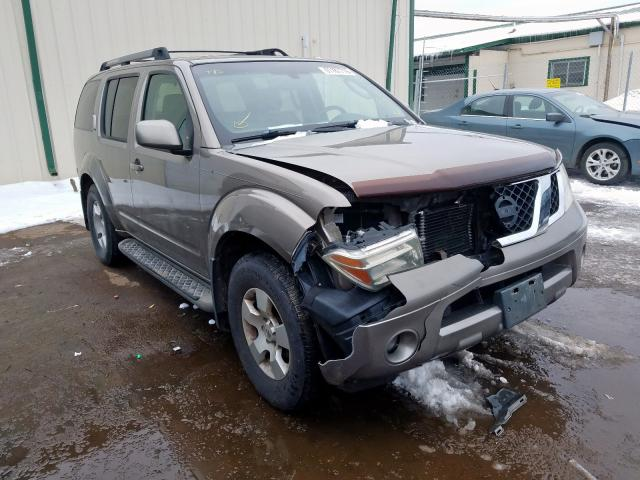 Nissan Pathfinder salvage cars for sale: 2005 Nissan Pathfinder
