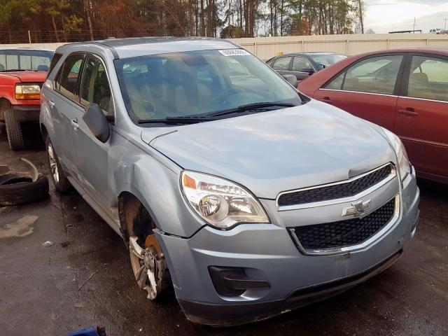 Salvage cars for sale from Copart Dunn, NC: 2015 Chevrolet Equinox LS