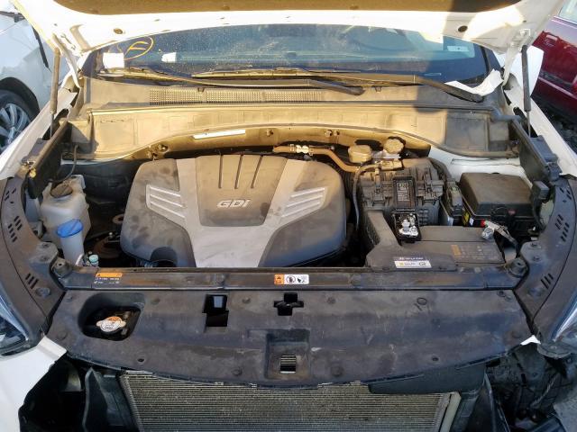 2017 Hyundai SANTA   Vin: KM8SRDHFXHU255429