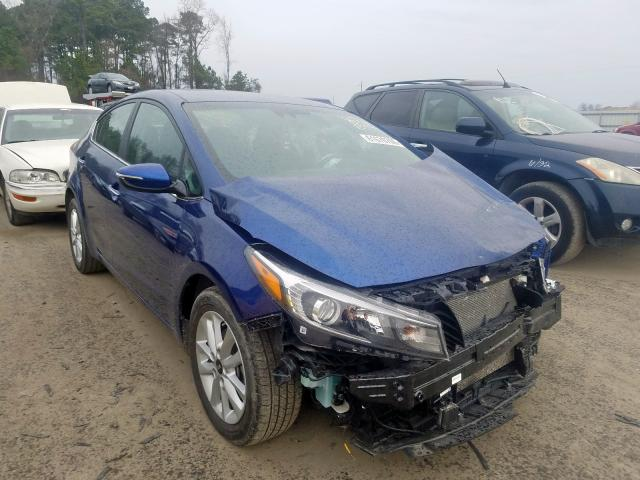 Salvage cars for sale from Copart Dunn, NC: 2017 KIA Forte LX