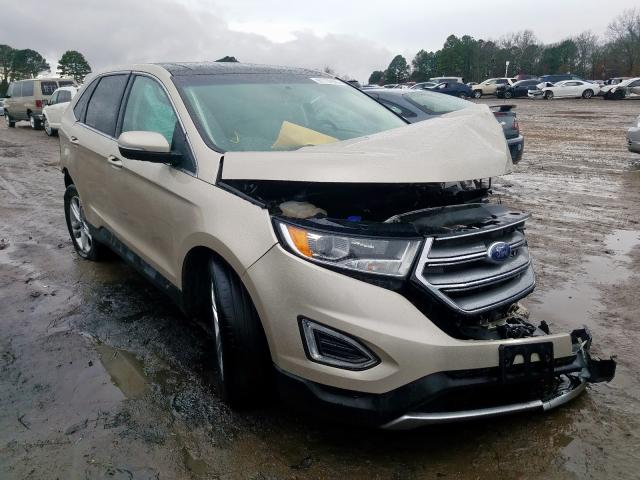 2017 Ford Edge Titanium for sale in Conway, AR