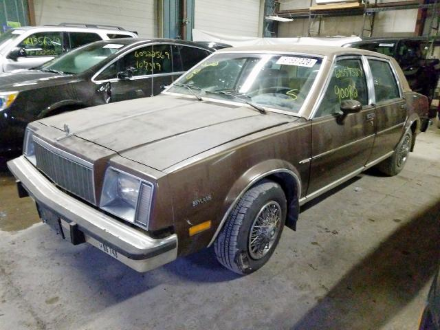 1981 BUICK  SKYLARK X-BODY
