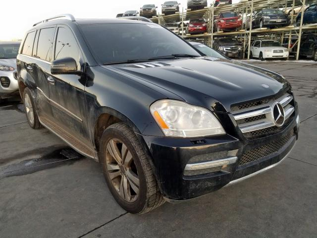 Mercedes-Benz GL 450 4matic salvage cars for sale: 2012 Mercedes-Benz GL 450 4matic