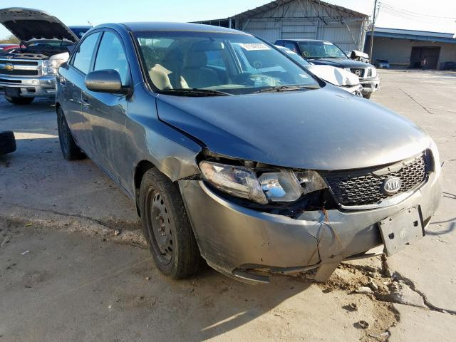 Salvage cars for sale from Copart Corpus Christi, TX: 2012 KIA Forte EX