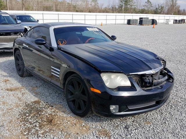 Salvage 2005 CHRYSLER CROSSFIRE - Small image. Lot 25799030