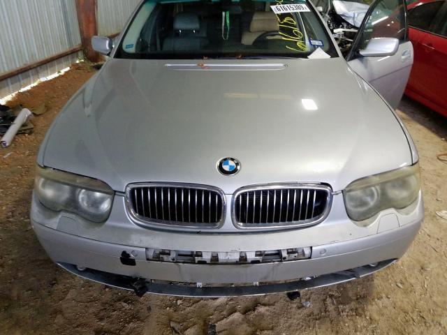 2003 BMW I SERIES - Interior View