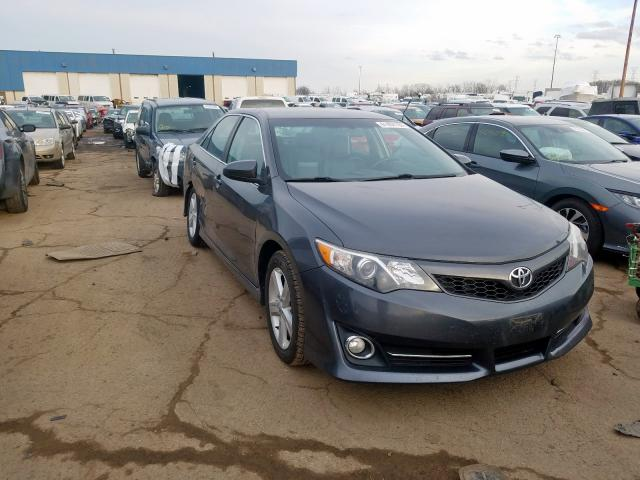 2012 Toyota Camry Base en venta en Woodhaven, MI