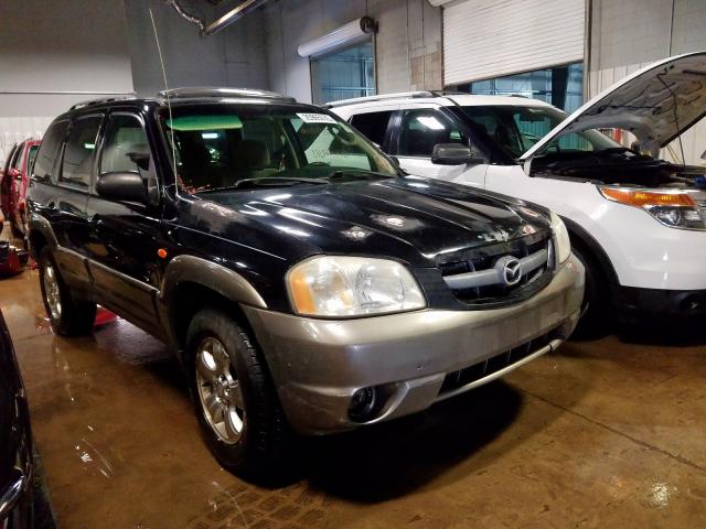 Mazda Tribute LX salvage cars for sale: 2003 Mazda Tribute LX