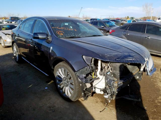 Salvage cars for sale from Copart Kansas City, KS: 2014 Lincoln MKS