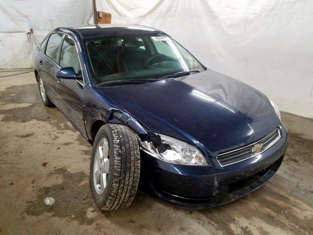Salvage 2007 CHEVROLET IMPALA - Small image. Lot 25844590