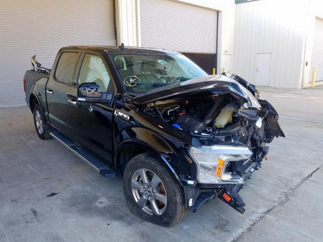 Salvage cars for sale from Copart Gaston, SC: 2019 Ford F150 Super