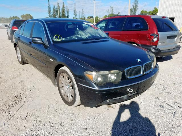 Salvage 2003 BMW 7 SERIES - Small image. Lot 25831720