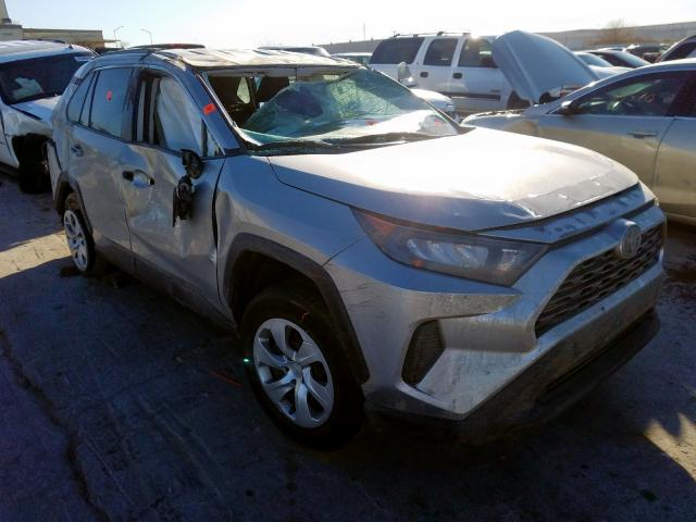 Salvage cars for sale from Copart Tulsa, OK: 2019 Toyota Rav4 LE