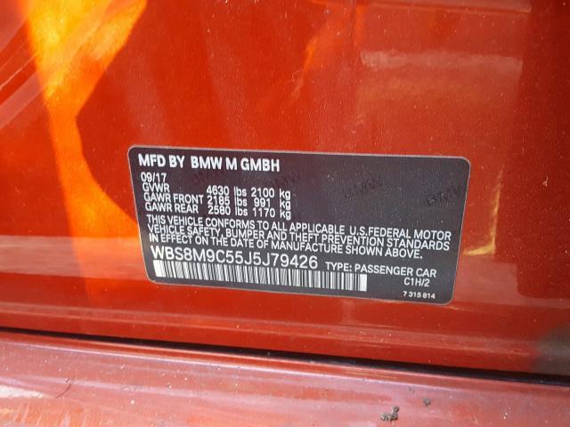 2018 BMW M3 | Vin: WBS8M9C55J5J79426