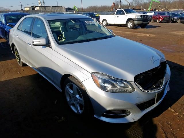 Mercedes-Benz E 350 4matic salvage cars for sale: 2014 Mercedes-Benz E 350 4matic